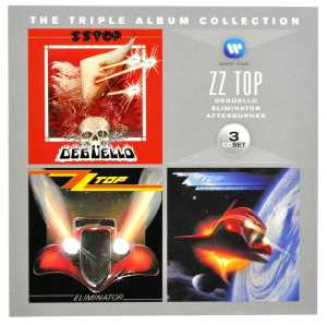ZZ TOP-TRIPLE ALBUM COLLECTION