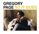 PAGE, GREGORY-SO IT GOES