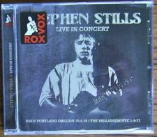STILLS, STEPHEN-LIVE IN CONCERT