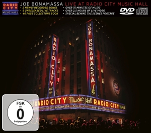 BONAMASSA, JOE-LIVE AT RADIO.. -CD+DVD-