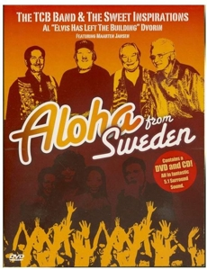 TCB BAND & THE SWEET..-ALOHA FROM SWEDEN -DVD+CD