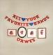 DAWES-ALL YOUR FAVORITE BANDS