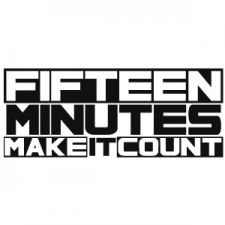VARIOUS-FIFTEEN MINUTES MAKE IT COUNT RECOR