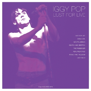 POP, IGGY-LUST FOR LIVE -COLOURED-