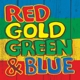 VARIOUS-RED GOLD GREEN & BLUE