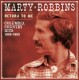 ROBBINS, MARTY-RETURN TO ME-COLUMBIA COUNTRY ...