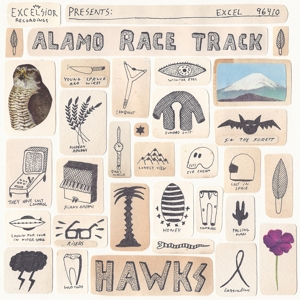 ALAMO RACE TRACK-HAWKS -LP+CD-