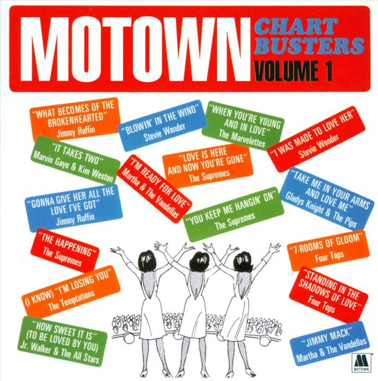VARIOUS-MOTOWN CHARTBUSTERS VOL.1