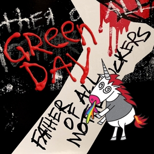 GREEN DAY-FATHER OF ALL... / LIMITED RED & WHITE VINYL -COLOURE