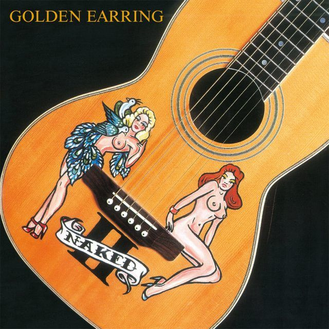 GOLDEN EARRING-NAKED II-COLOURED/INSERT-