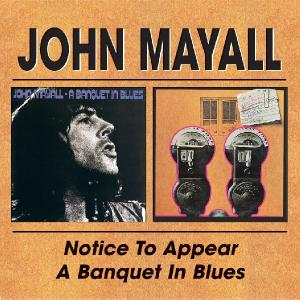 MAYALL, JOHN-NOTICE TO APPEAR/A BANQUE