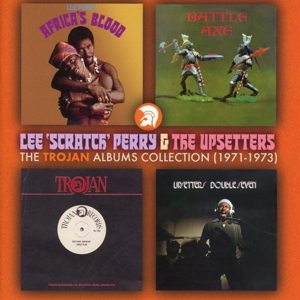 PERRY, LEE & THE UPSETTER-TROJAN ALBUMS COLLECTION: 1971 - 1973