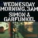 SIMON & GARFUNKEL-WEDNESDAY MORNING, 3 A.M.