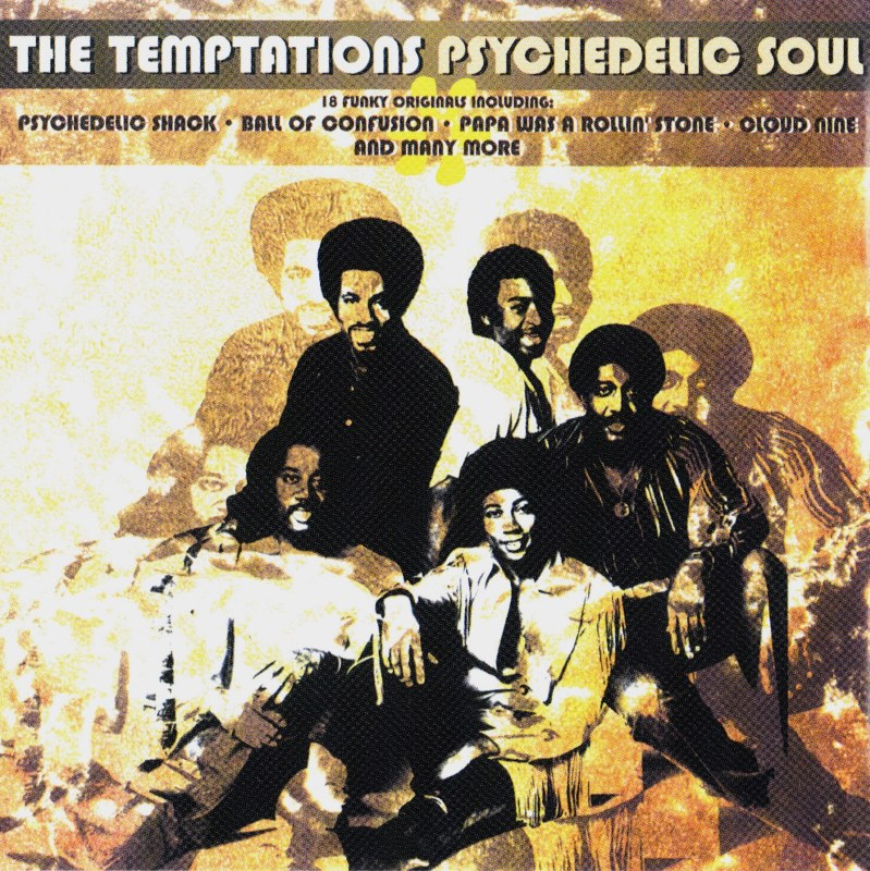 TEMPTATIONS-PSYCHEDELIC SOUL