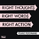 FRANZ FERDINAND-RIGHT THOUGHTS,  RIGHT WORDS, RIGHT ACTION -LTD