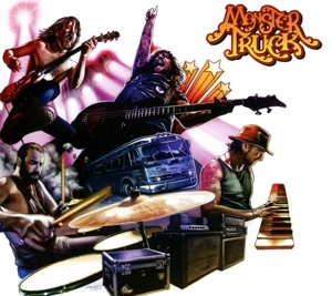 MONSTER TRUCK-TRUE ROCKERS -DIGI-