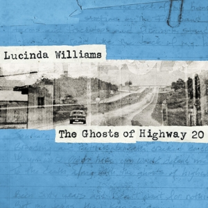 WILLIAMS, LUCINDA-GHOSTS OF HIGHWAY 20 // 6 PANEL WALLET -DIGI-