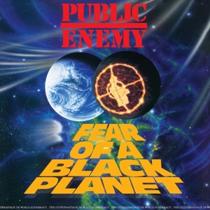 PUBLIC ENEMY-FEAR OF A BLACK PLANET/ 180GR. / DOWNLOAD -HQ-
