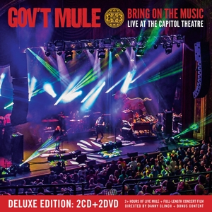 GOV'T MULE-BRING ON THE MUSIC -CD+DV