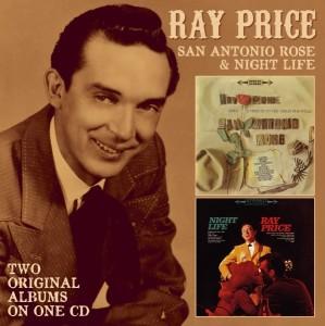 PRICE, RAY-SAN ANTONIO ROSE & NIGHT LIFE/ 2 ON 1 CD