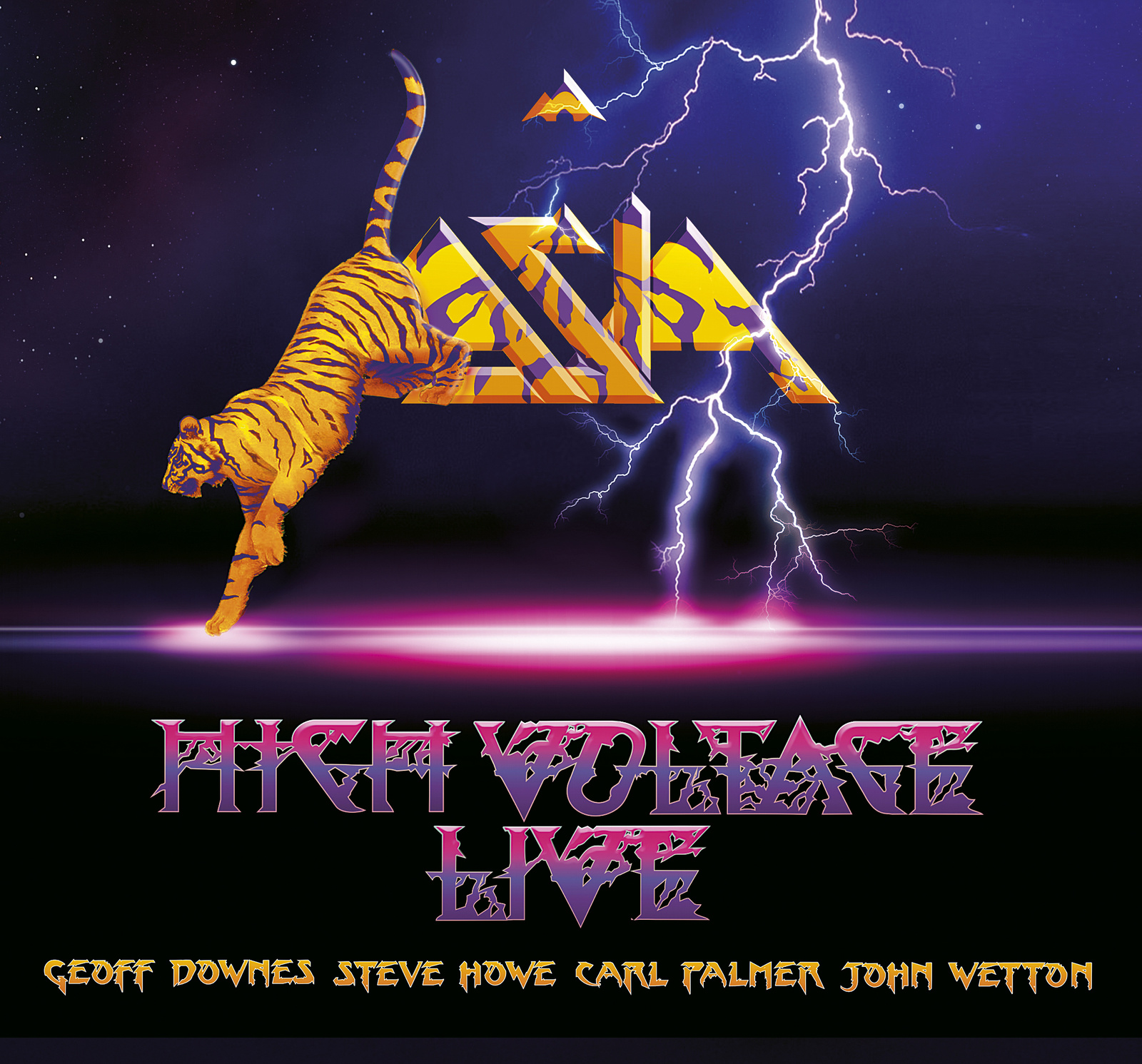 ASIA-HIGH VOLTAGE (LIVE)