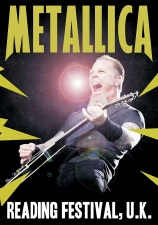 METALLICA-READING FESTIVAL, U.K.