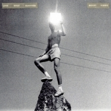 MOUNT KIMBIE-LOVE WHAT SURVIVES/ WHITE VINYL -COLOURED-