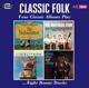 VARIOUS-CLASSIC FOLK - FOUR CLASSIC ALBUMS PL...