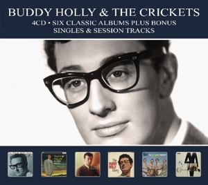 HOLLY, BUDDY & THE CRICKE-SIX CLASSIC ALBUMS -DIGI-