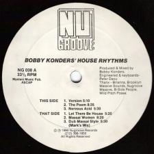 KONDERS, BOBBY-HOUSE RHYTHMS