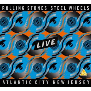ROLLING STONES-STEEL WHEELS LIVE -BR+CD-