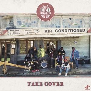 HOT 8 BRASS BAND-TAKE COVER -COLOURED-