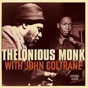 MONK, THELONIOUS-WITH JOHN COLTRANE + 2 -HQ-